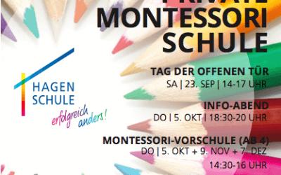 HagenSchule lädt ein – Tag der Offenen Tür, Samstag, 23.9.17, 14-17 Uhr